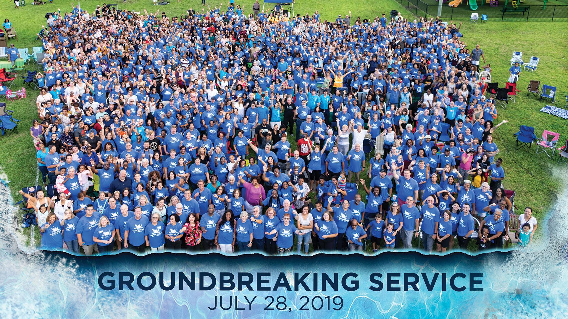 Groundbreaking Service Recap