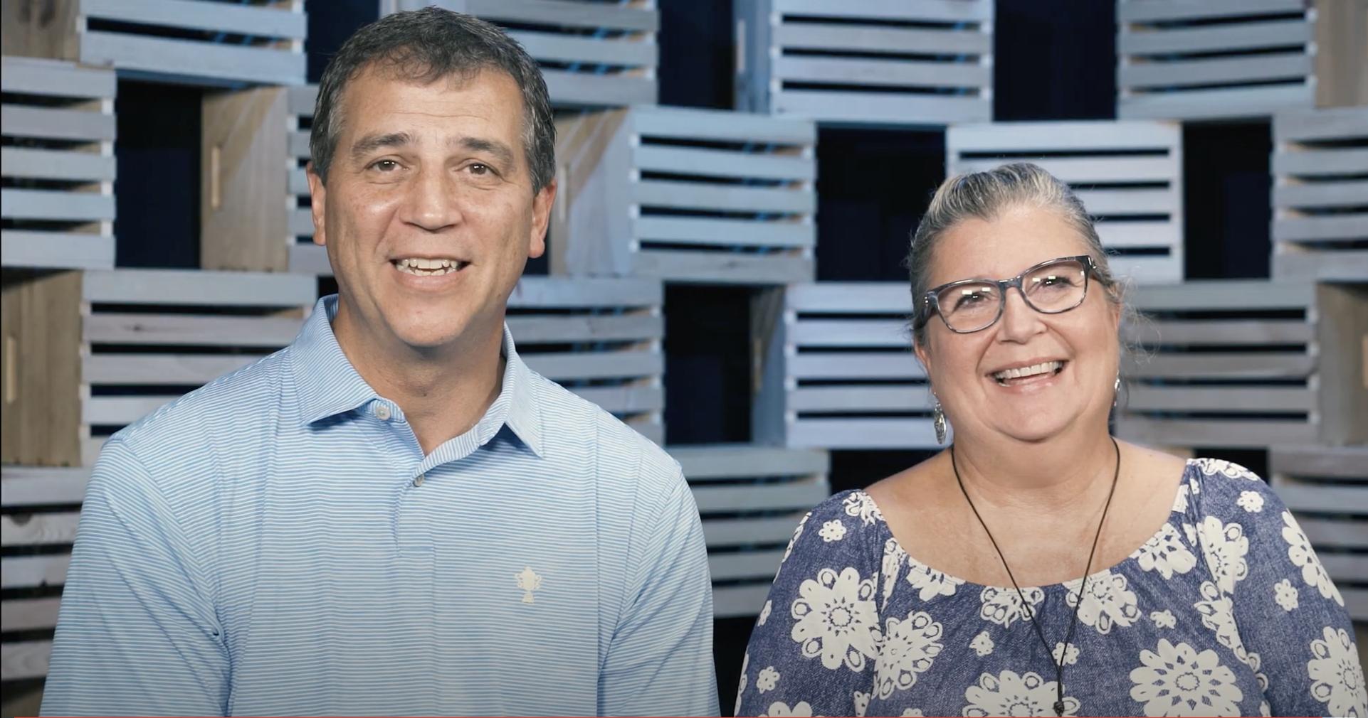 Cannonball Story: Geoffrey & Mechelle Horst